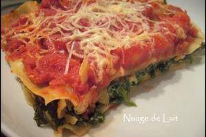 Lasagnes Ricotta/Epinards (WW)