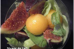 Salade de Figue au Melon à l'huile d'Argan