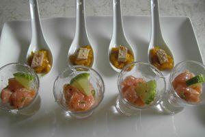 Salade Folle à ma Façon de fin d'année 2007 et Menu de Noël