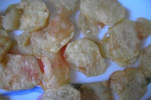 CHIPS ALLEGEES (recette WWet)