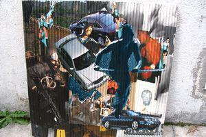 Ateliers collages en milieu fermé - Diaporama