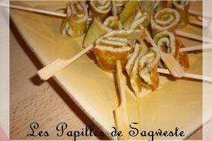 Recette d'omelette tandoori pour l'apéro