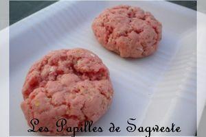 Recette de cookies rouges aux flocons d'avoine