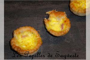 Recette de mini quiches jambon gruyère - Tour en Cuisine #185