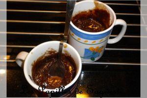 Recette de fondant au chocolat dans un mug - Une Tour en Cuisine 226