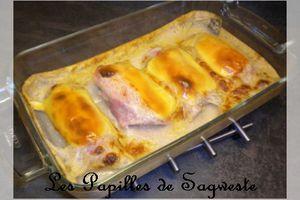 Recette de gratin de poireaux au jambon - Ronde Inter Blog #35
