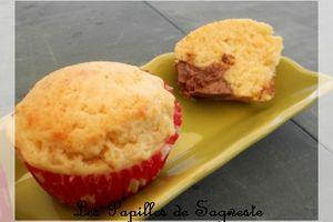 Recette de muffins au nutella