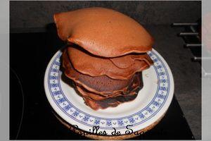 Recette de pancakes au chocolat
