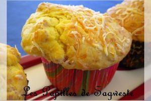 Recette de muffins jambon gruyère - interblog #17