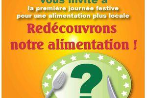 """""""Redécrouvrons notre alimentation"""" le 08/11/09"""