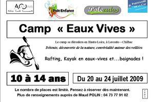 Camps été 2009