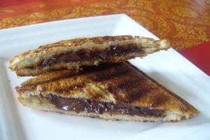 Croque chocolat / banane