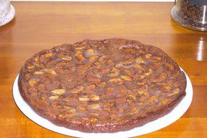 Flan Banane et chocolat