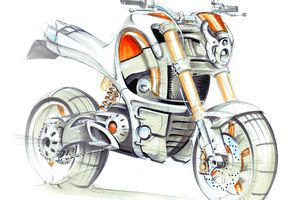 LOTUS Motorcycle - Concept Era