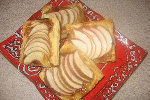 Feuilletés aux pommes ultra rapides...