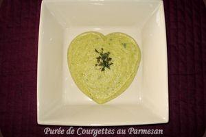 Purée de Courgettes au Parmesan