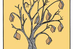 J'aime les arbres...Et les livres..