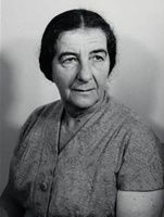 Golda Meir Urges U. N. to Pay Increased Attention to Arab War Threats