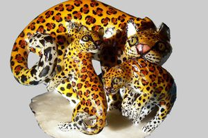 Artisanat du Panama. La tagua, Art. 1 : sculptures des Wounaan et Emberá