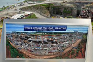 Extension du Canal de Panama, le centre d'accueil des visiteurs de Gatun est ouvert au public.