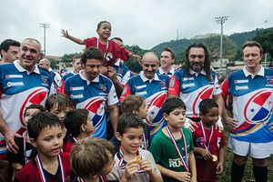 "L'association ""Rugby French Flair"" au Panama. (1)- Accueil à l'Alliance Française."