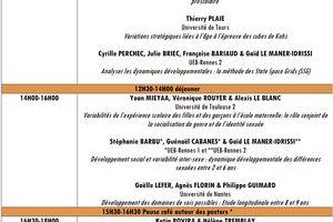 Ripsydeve 2011 - Réseau de Psychologie du développement et de l'éducation - 30-31 mai 2011