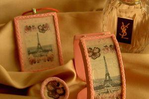 Parure fimo La Parisienne