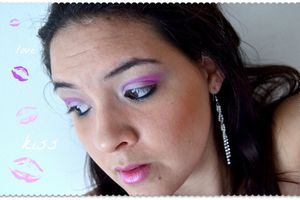 Maquillage: sweet pink!