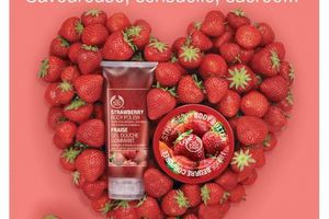 Collection The Body shop 2011 : Saint valentin.