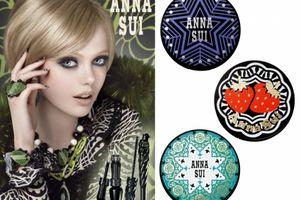 Anna Sui, make-up collection Automne 2011 .