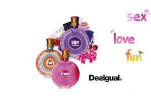 Desigual lance ses parfums : Sex, Fun & Love !