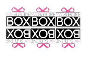 "Coming soon : ""Ma sublime Box"" !"