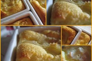 Petits flans au coing