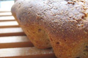 Le pain canadien au levain SANS LEVURE de Swinguette