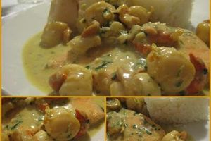 Curry de poissons