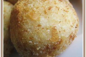 Arancini mozzarella persil