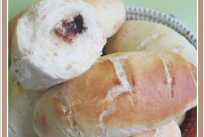 Petits pains au lait fourrés ... Comme des Pitch