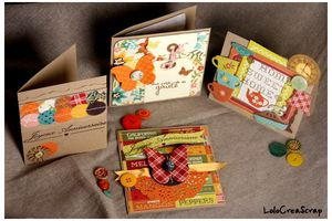 Cartes d'Automne en Crate Paper Farmhouse
