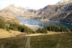 Photos de Savoie - Roselend et Mont Blanc
