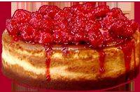 Cheesecake aux framboises - Recette cheesecake USA