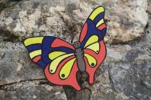 Un nouveau papillon en bois !!!