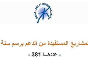 لائحة الجمعيات التي استفادت من الشراكة مع المعهد الملكي للثقافة الأمازيغية