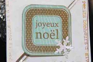 """Carte """"Petits bonheurs d'hiver"""""""
