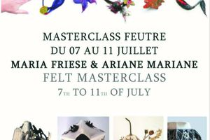 felt masterclass with Ariane Mariane and Maria Friese