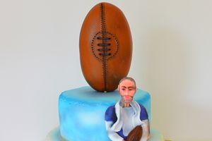 Gâteau du rugbyman