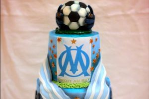 Gâteau Football OM