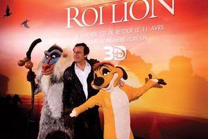 La vidéo et les photos de l'avant-première du Roi Lion : la savane a envahi les Champs Elysées à Paris - 25 03 2012 !