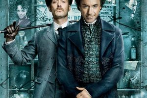 Jude Law in SHERLOCK HOLMES (BANDE ANNONCE VO) 03 02 2010 avec Robert Downey Jr.