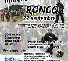 Journée départementale de la MN à Roncq le dimanche 22 septembre