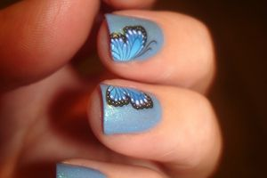 Nail Art - Water Decals K195 // Beautedesign-shop
